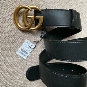 'New Gucci Belt Äuthentic Double G Marmot GH